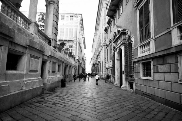 Strada Nuova and the Palazzi dei Rolli: Unesco World Heritage sites