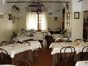 Trattoria La Ruota, fish restaurant in Genova Nervi