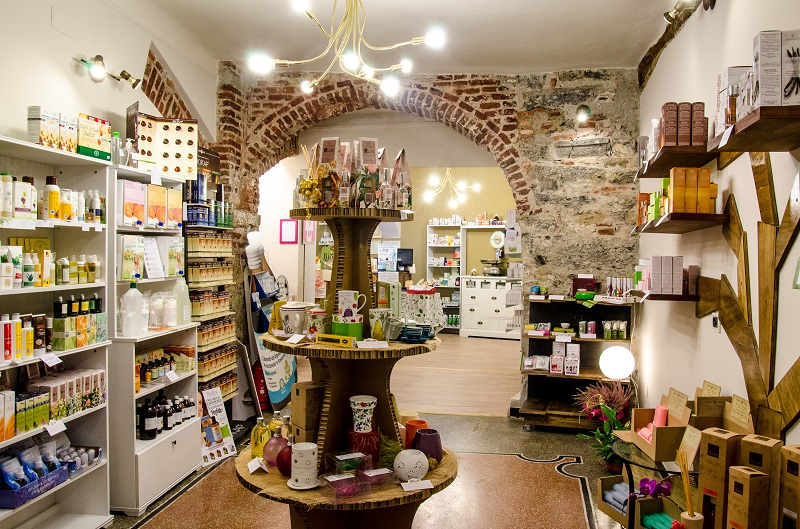 Natural herb shop
