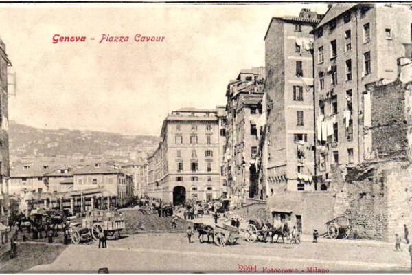 Genova, la Città Vecchia: il sestiere del Molo