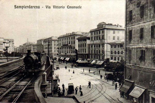 Sampierdarena: l'antico comune e l'industrializzazione