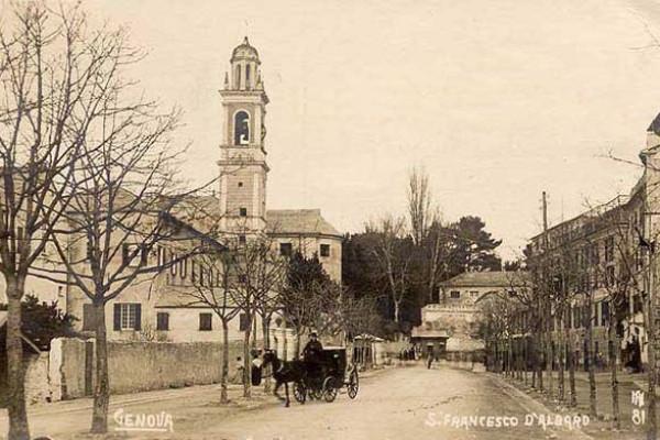 La collina di Albaro: San Francesco e San Fruttuoso