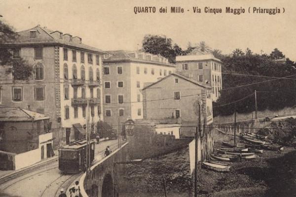 Genova Quarto, la via romana e i Mille di Garibaldi
