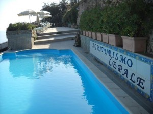 Agriturismo Le Pale piscina