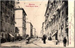 Genova antica, corso Buenos Aires