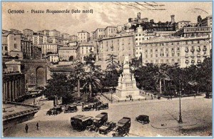 Piazza Acquaverde stazione Principe, Genova