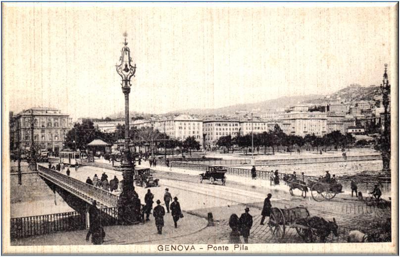Ponte Pila, Genova Antica