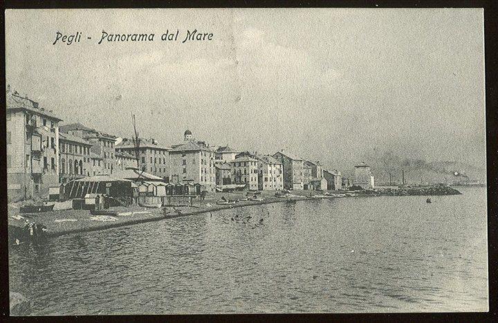 Pegli, cartolina antica