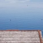 Il mare sopra da Crevari, Genova Voltri