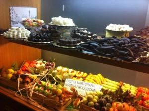 Frutta martorana e cioccolatini