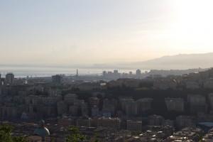 Genova, vista dalla Madonna del Monte