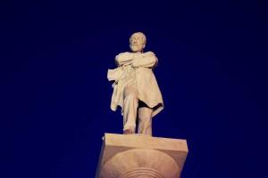 Statua Giuseppe Mazzini, Genova