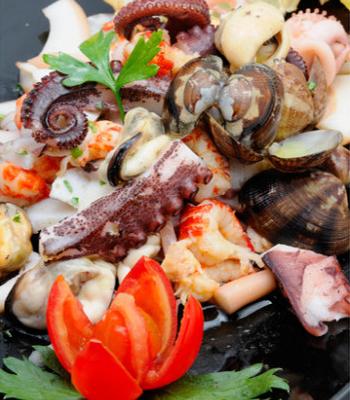 il guscio boccadasse insalata mista mare