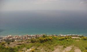 Vista dal Monte Moro, Genova