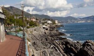 Genova Nervi, passeggiata Anita Garibaldi