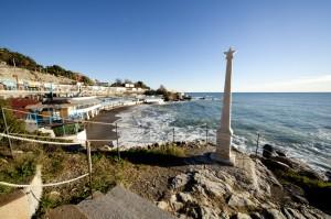 Genova Quarto al mare, scoglio di Garibaldi