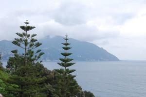 Recco, veduta del promontorio di Portofino