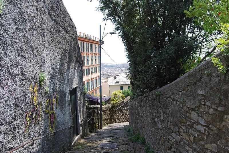 Castelletto, salita San Rocchino