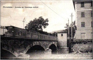 Molassana, ponte sul Bisagno