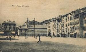 Genova Prà, l'antica piazza del Popolo