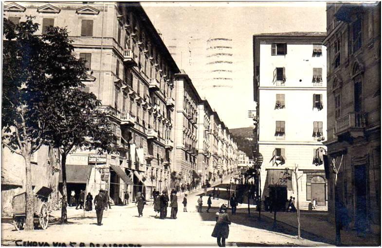 Genova San Fruttuoso, cartolina antica