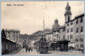 Genova Voltri, cartolina antica