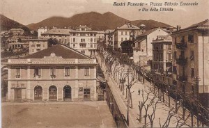 Genova Sestri Ponente, cartolina antica
