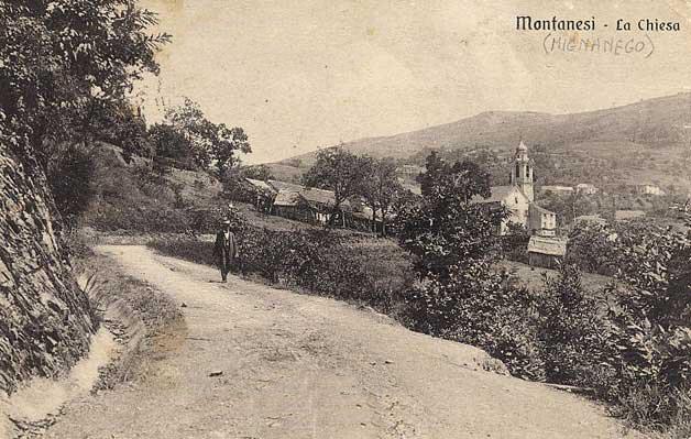 Val Polcevera, Mignanego - cartolina antica