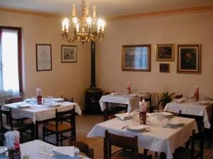 Ristorante Montemaggio sala interna