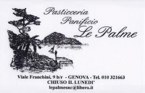 Panificio Pasticceria Le Palme Genova Nervi