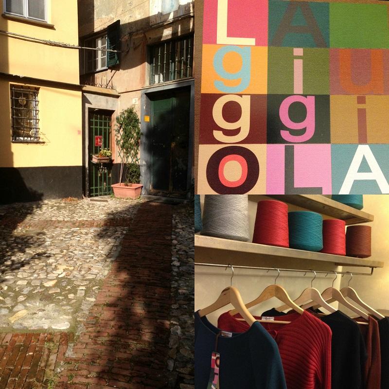 La giuggiola laboratorio di maglieria a Genova